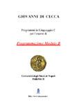 Programmi in Linguaggio C