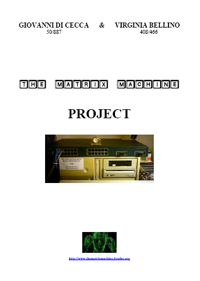 THE MATRIX MACHINE PROJECT